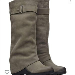 Sorel After Hours Tall Boot in Quarry!  New in box